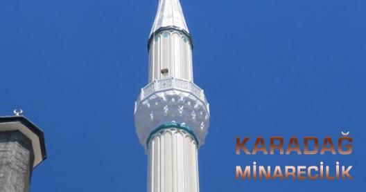 Gaziantep Camii Boya Ustasi Minare Boyasi
