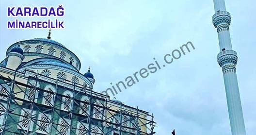 Mardin Cami Minaresi Boya Ve Tadilat